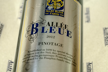 Allee Bleue Pinotage 2012