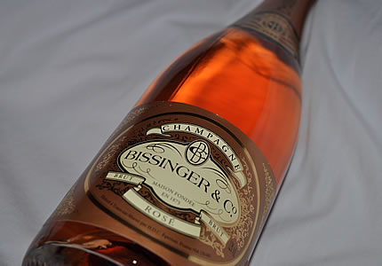 Lidl-Champagner Bissinger & Co Brut Rose