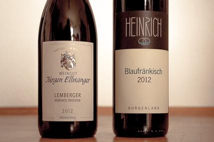 Weinrallye Blaufränkisch Lemberger Burgenland Württemberg Heinrich Jürgen Ellwanger