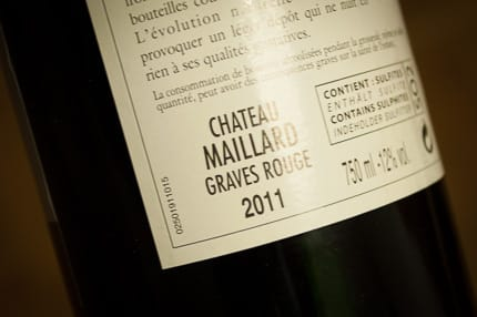 chateau maillard bordeaux graves wein