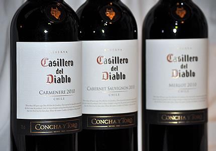 Rotweine von Casillero del Diablo