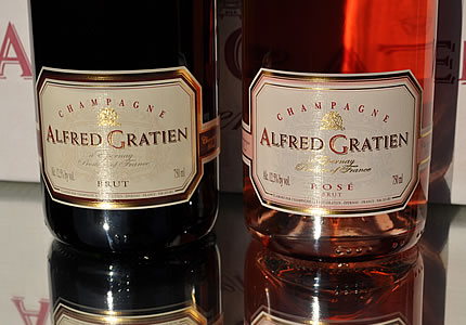Zwei mal Alfred Gratien am Welt-Champagner-Tag