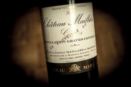 chateau maillard bordeaux graves
