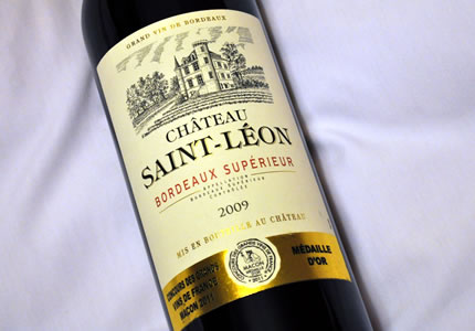Bordeaux Superieur: Chateau Saint-Leon 2009