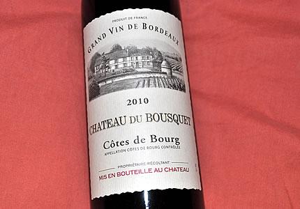 Cotes de Bourg: Chateau du Bousquet