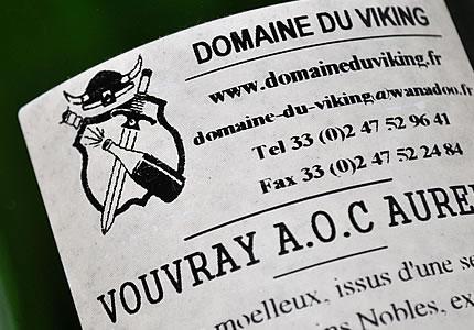 Domaine du Viking Cuvee Aurelie Vouvray 1995