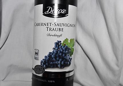 Deluxe Cabernet Sauvignon Traubensaft
