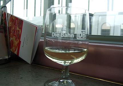 Nur noch Wein aus Deutschland bei der Deutschen Bahn
