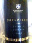 Winzerverein Deidesheim Dornfelder 2005 trocken