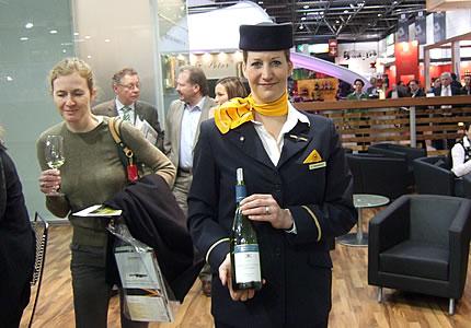 DWI Lufthansa Wein
