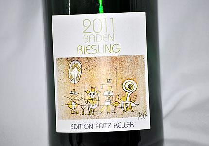 Edition Fritz Keller Baden Riesling 2011