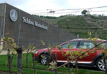 Besuch im Erlebnisweingut Schloss Wackerbarth