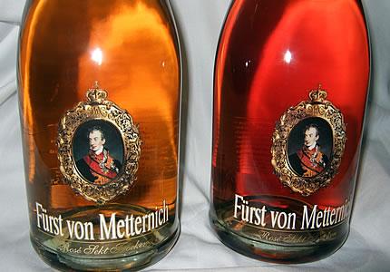 Farbwechsel beim Fürst von Metternich Rose