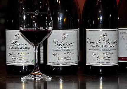 Domaine Chasselay mit Fleurie, Chenas und Cote de Brouilly