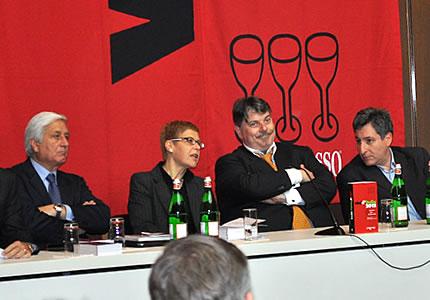 Gambero Rosso: Vorstellung des Vini d'Italia 2012
