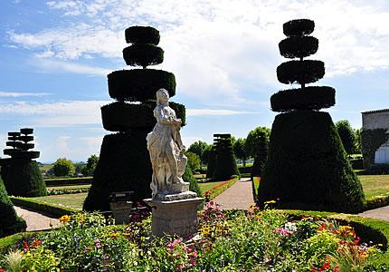 Chateau de Pizay mit Morgon