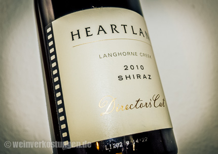 Langhorne Creek Heartland Shiraz 2010 Directors Cut