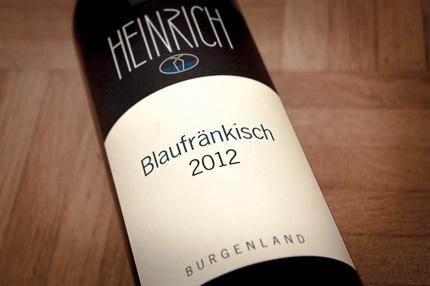 Blaufränkisch Burgenland Weingut Heinrich
