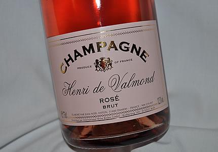 Champagner Henri de Valmond Brut Rose
