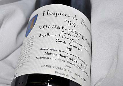 Hospices de Beaune Volnay-Santenots 1991