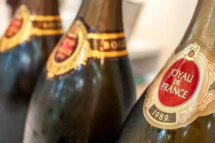 Champagner Verkostung Boizel mit Joyau de France