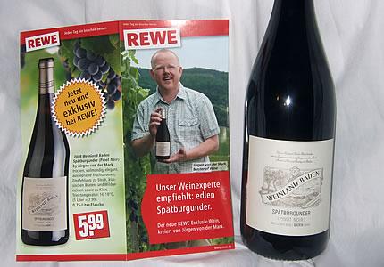 Jürgen von der Mark REWE Wein