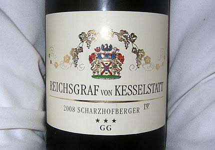 Reichsgraf von Kesselstatt Scharzhofberger Großes Gewächs 2008