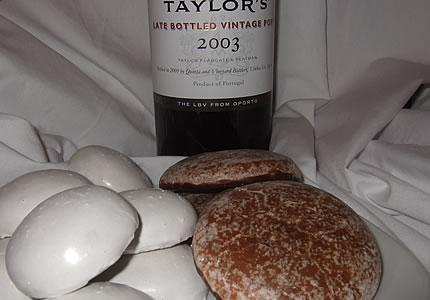 Lebkuchen Portwein Taylors LBV 2003