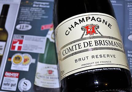 Comte de Brismand Lidl-Champagner