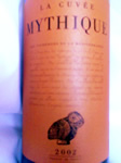La Cuvee Mythique