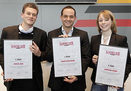 Tommy Hergenhan als bester Nachwuchssommelier 2011 ausgezeichnet
