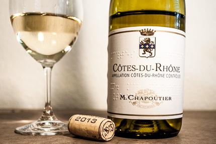 Cotes-du-Rhone von M. Chapoutier bei Netto