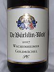 Dr. Bürklin-Wolf PC Wachenheimer Goldbächel Riesling trocken