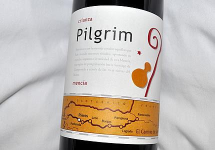 Pilgrim Crianza Bierzo Mencia: Der Pilgerwein