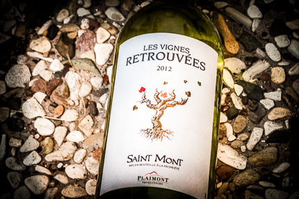 Saint Mont AOC - Plaimont Producteurs - Les Vignes Retrouvées 2012