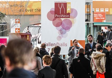 20 Jahre ProWein 2014 Ein Jubiläum mit Erfolgen