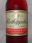 Rotkäppchen Wein Dornfelder Rose