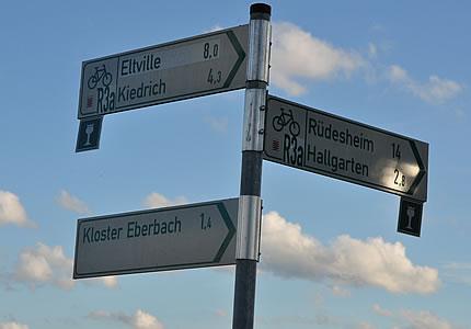 Riesling-Route durch das Rheingau