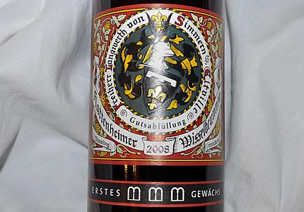 Langwerth von Simmern Hattenheimer Wisselbrunnen Erstes Gewächs 2008