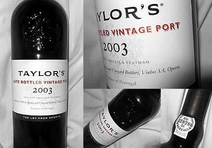 Portwein Taylors Late Botteld Vintage LBV