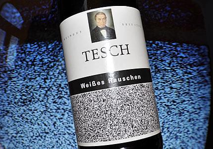 Weingut Tesch: Weißes Rauschen, ein Riesling für Die Toten Hosen