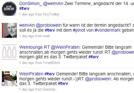Twitterweinverkostung #twv