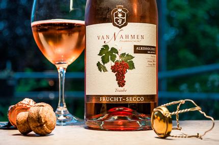 Van Nahmen alkoholfreier Sekt Trauben-Secco