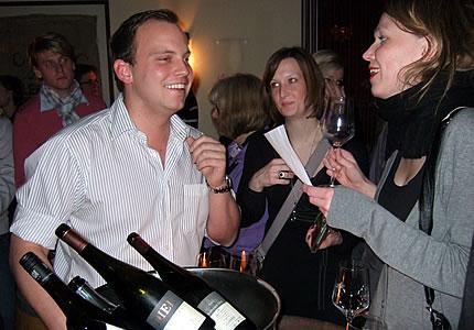 Victor Diel Weinparty