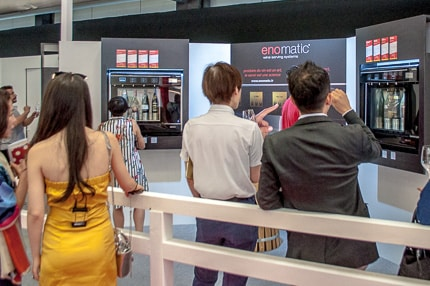 vinexpo verkostungsautomat spanien