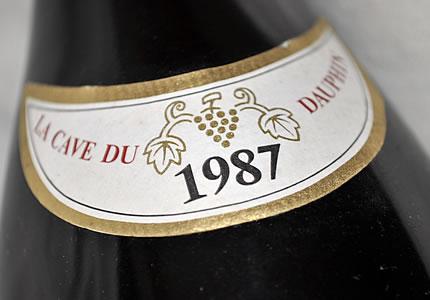 La Cave du Dauphin Volnay 1er Cru Clos des Chenes 1987