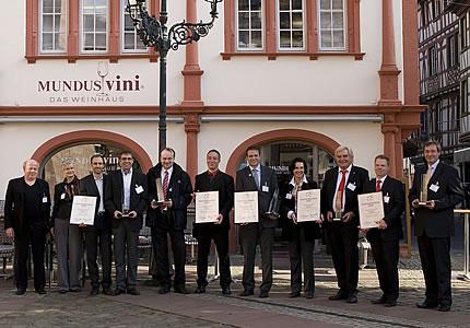 Weinhändler des Jahres 2010 der Zeitschrift Weinwirtschaft