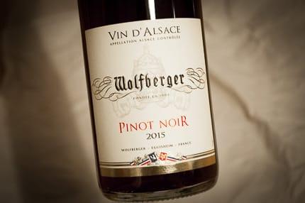 Wolfberger Pinot Noir aus dem Elsass